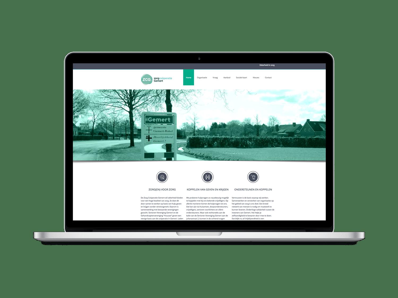 Website ontwerp ZCG