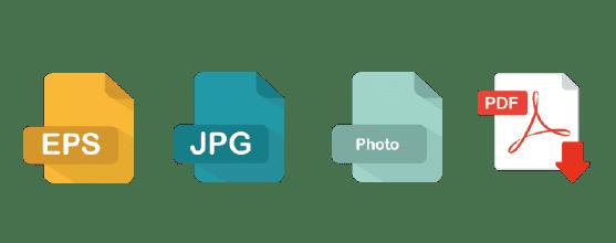 Logo ontwerp - aan leveren bestandextensies