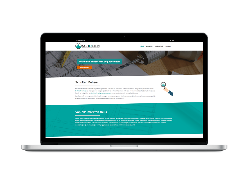webdesign Scholten Beheer